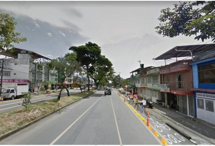 Ciclobanda Avenida Ambalá de Ibagué
