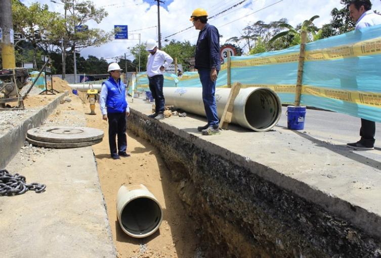 Bocanegra ratificó que retomará el diseño original del acueducto complementario