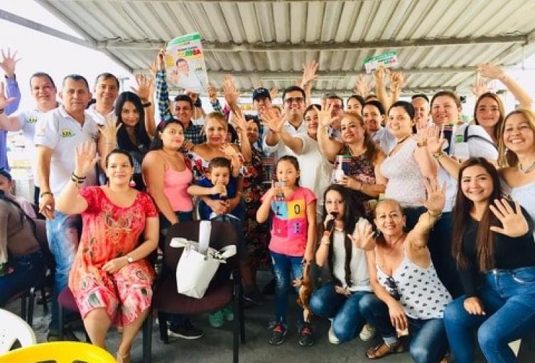 Ruben Dario Correa candidato a la alcaldía de Ibagué