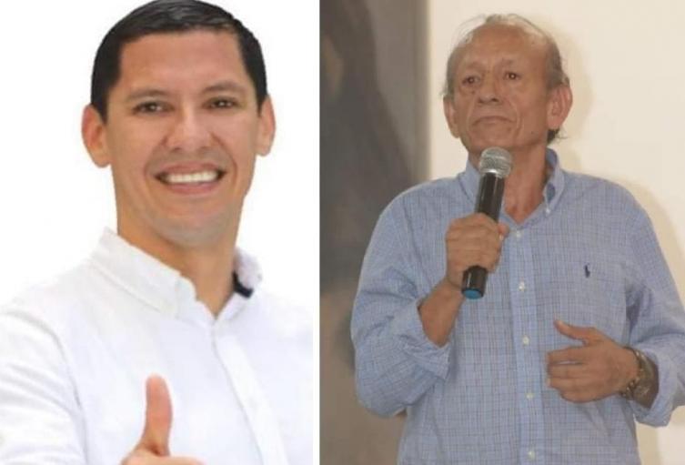 Los candidatos Camilo Delgado y Hugo Ernesto Zarrate desmienten alianzas políticas con Alberto Girón Rojas.