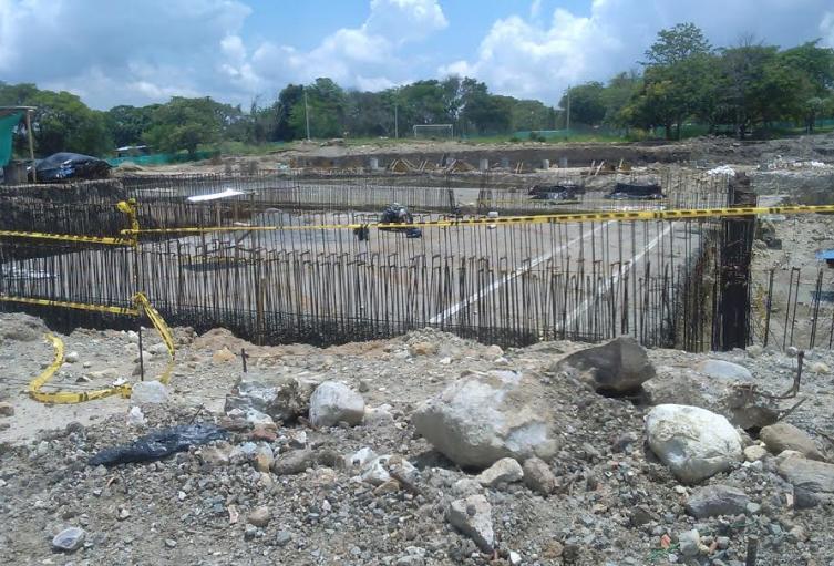 En total son 93 obras inconclusas distribuidas en 25 municipios del Tolima