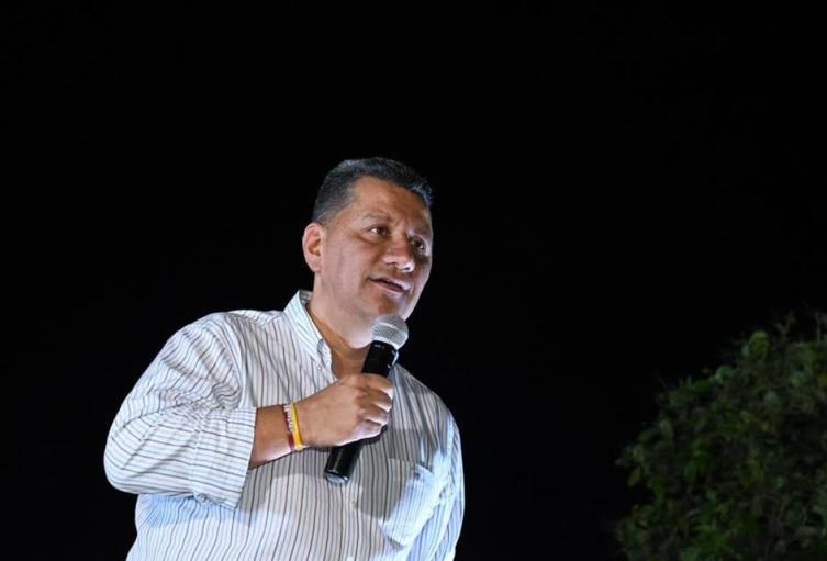 Candidato a la gobernación Ricardo Orozco