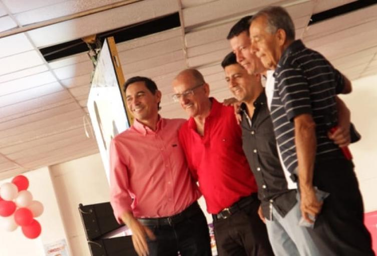 Rubén Darío Rodríguez, ratificó apoyo a la campaña de Andrés Hurtado