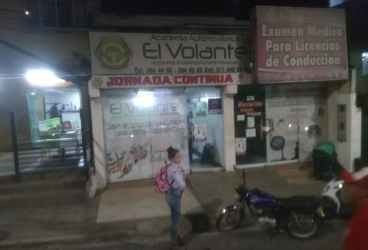 Millonario hurto a Académica de conducción en Ibagué