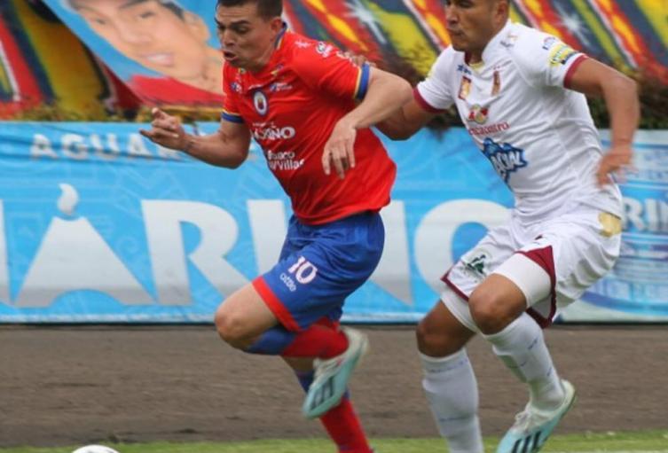 Deportes Tolima 0 Pasto 0 un contraste del partido anterior