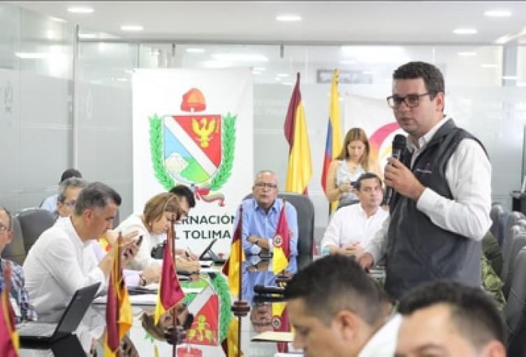 Autoridades entregarán recomendaciones a las alcaldías para garantizar controles y transparencia en los 47 municipios del Tolima