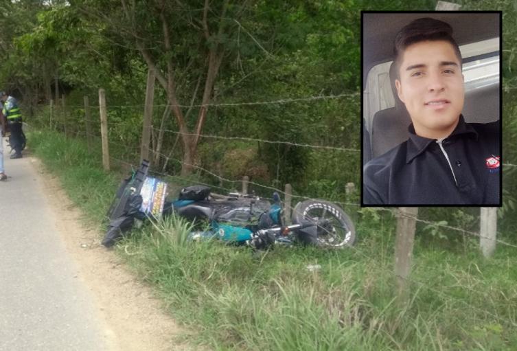 Tragedia en el Totumo, joven mensajero murió luego de caer de su moto