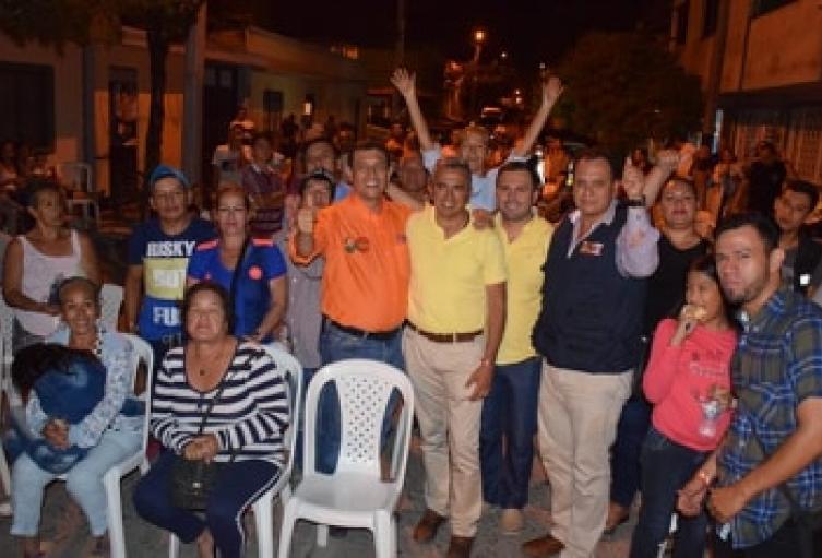 José Alberto Girón dio por concluida su etapa de campaña en las comunidades