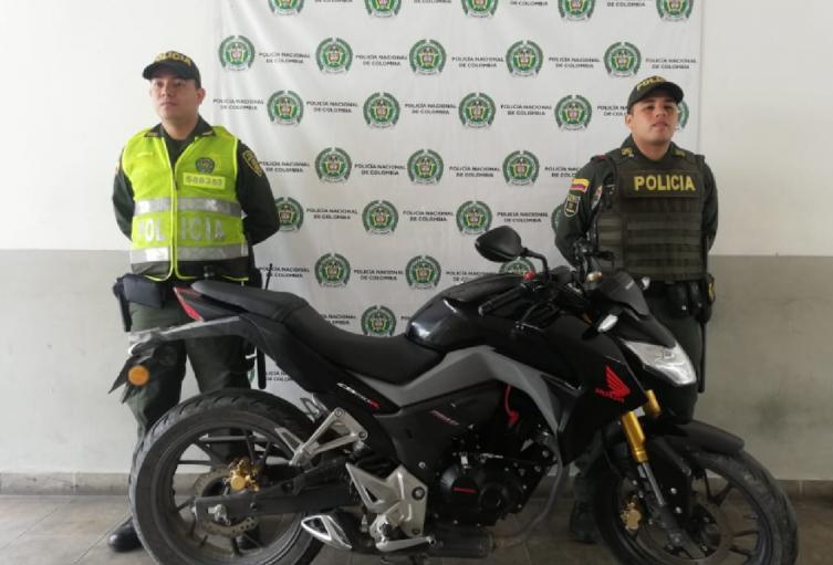 La moto robada será entregada a su propietario