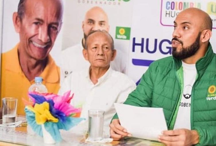 El partido Alianza Verde oficializó su respaldo político al candidato de la Convergencia Alternativa Hugo Ernesto Zarrate