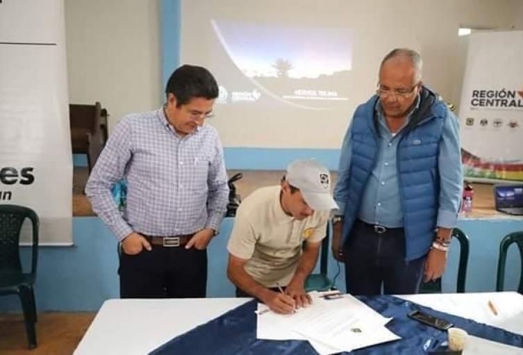 En esta oportunidad se protegen más de 60 hectáreas que surten acueductos de los municipios de Herveo y Fresno
