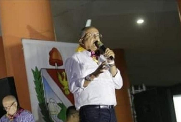 En su discurso, el mandatario seccional habló de la gestión en segundo período  y lanzó dardos a sus opositores