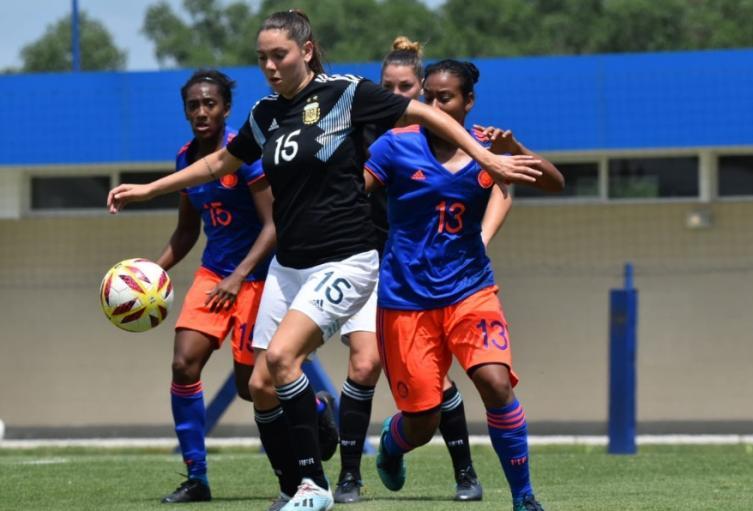 Colombia vs Argentina femenino