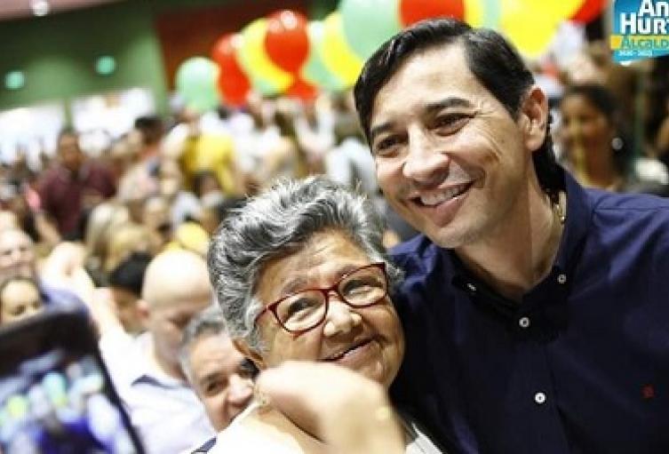 Alcalde de Ibagué Andres Hurtado