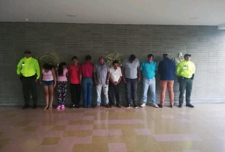 Banda delincuencial  'Los Dimax'