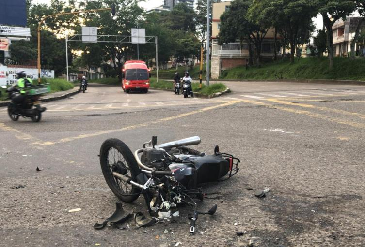 Accidente de tránsito Ibagué