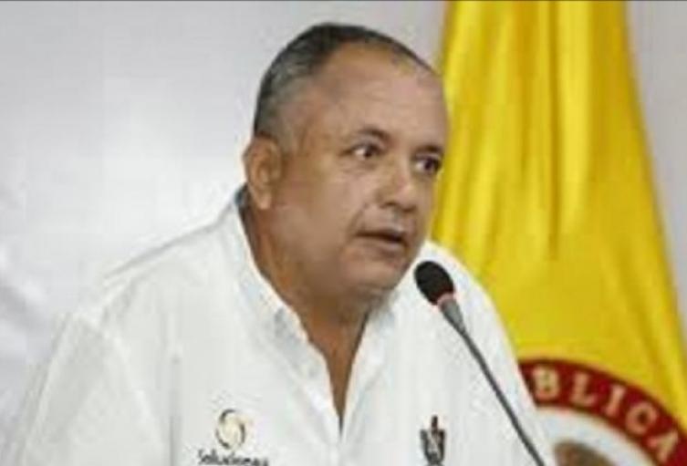 Óscar Barreto Gobernador del Tolima
