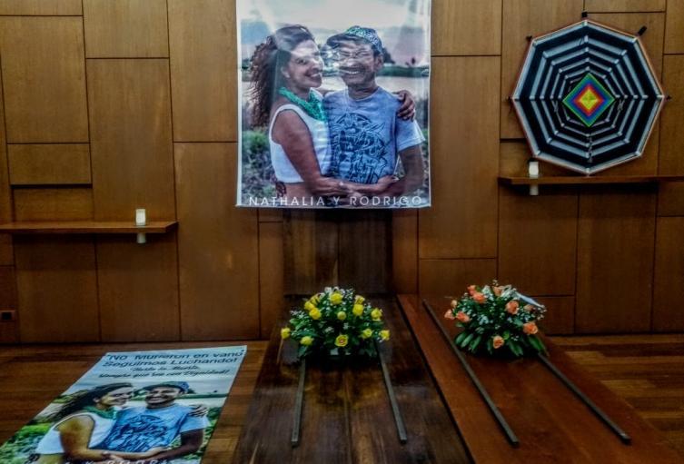 Velorio Simbólico de pareja asesinada en la Costa Caribe