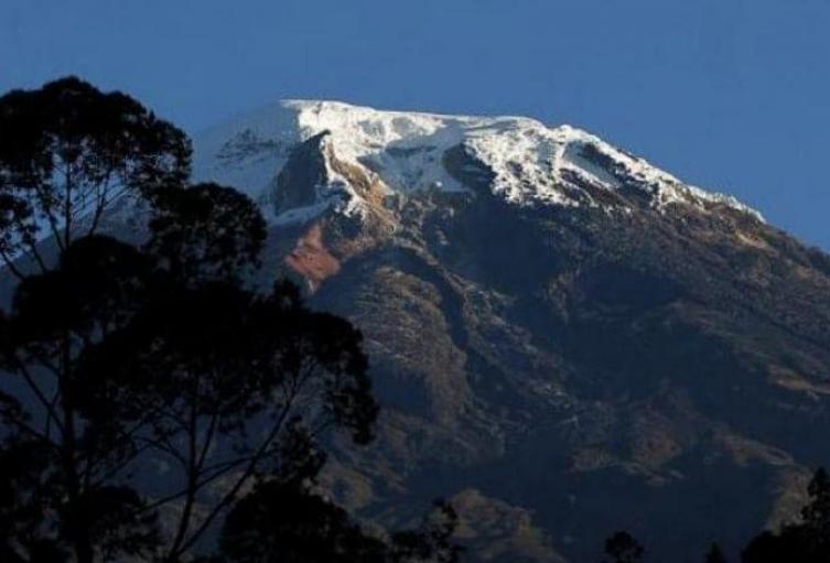 Se restringió el ascenso al nevado del Tolima por la cara sur por alta pendiente y abismos