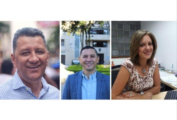 Ricardo Orozco, Adndrés Hurtado, Olga Alfonso