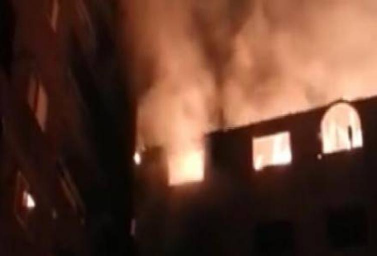 Incendio en iglesia cristina