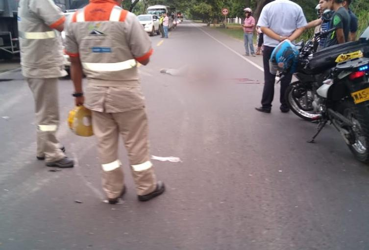 Accidente via Espinal-Ibagué