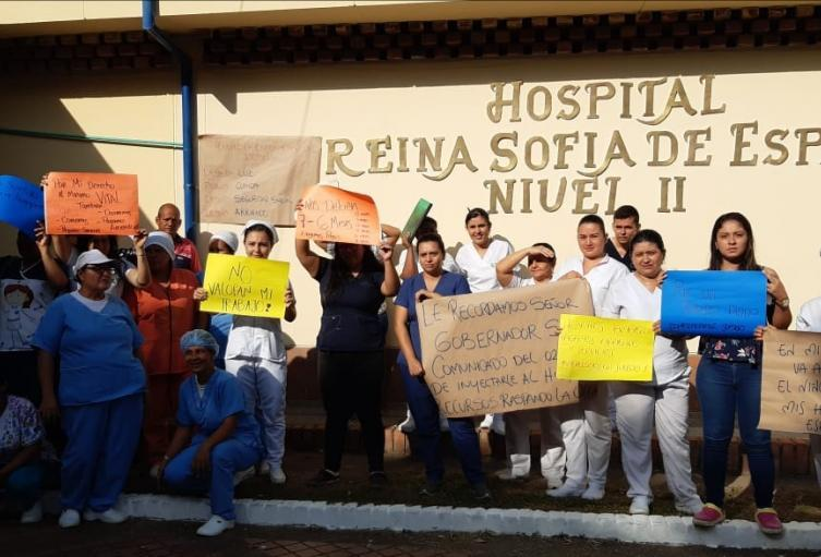En estos momentos el hospital está prestando los servicios de urgencias, hospitalización y parto