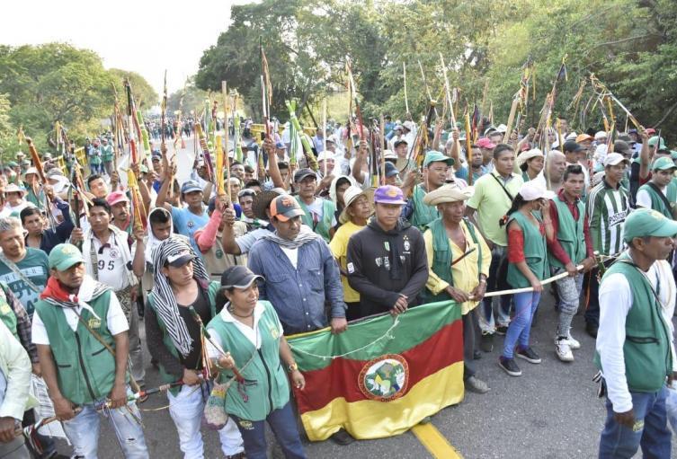 Jorge Bolívar, se reunió con los integrantes del Consejo Regional Indígena – CRIT