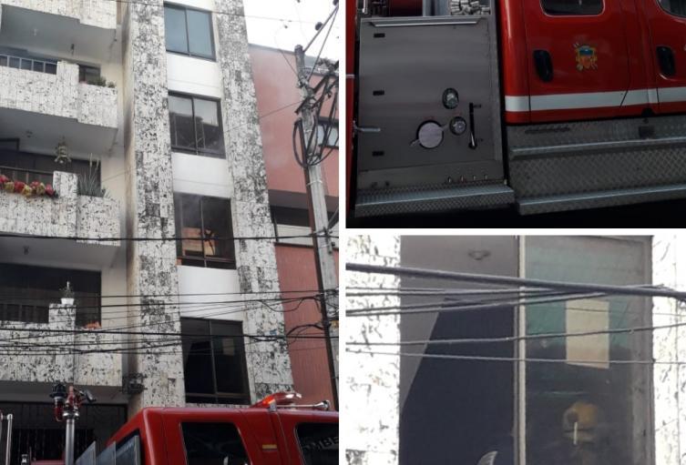 Conato de incendio prendió las alarmas en la Pola