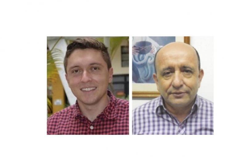 Diputados Marco Emilio Hincapie y Carlos Reyes