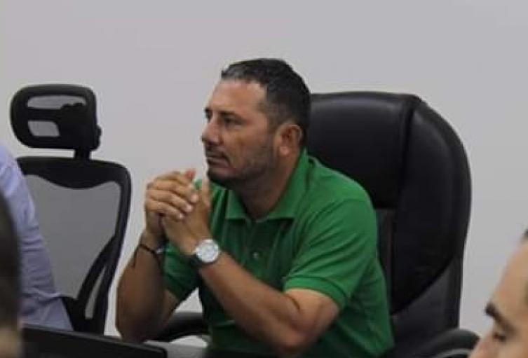 Juan Carlos Tamayo alcalde de El Espinal