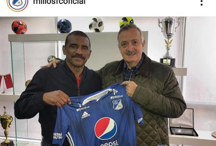 Iguarán nuevo entrenador de delanteros de Millonarios