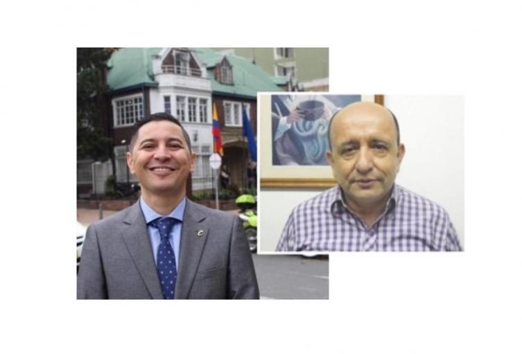 Andrés Fabián Hurtado y Carlos Reyes
