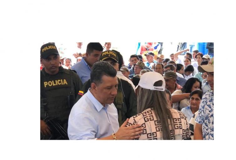 Gobernador del Tolima Ricardo Orozco