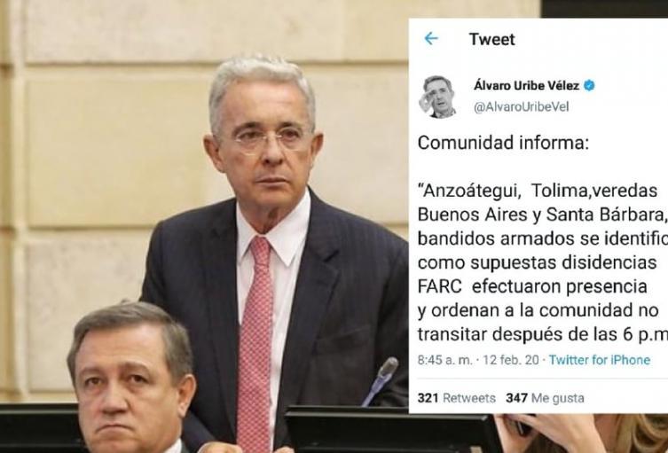 En las veredas Buenos Aires y Santa Bárbara, 15 hombresarmadosse están identificando como supuestas disidencias de las FARC