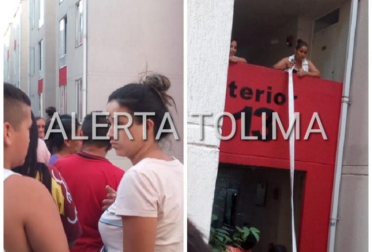 Incendio consumió un apartamento en los Multifamiliares del Tejar