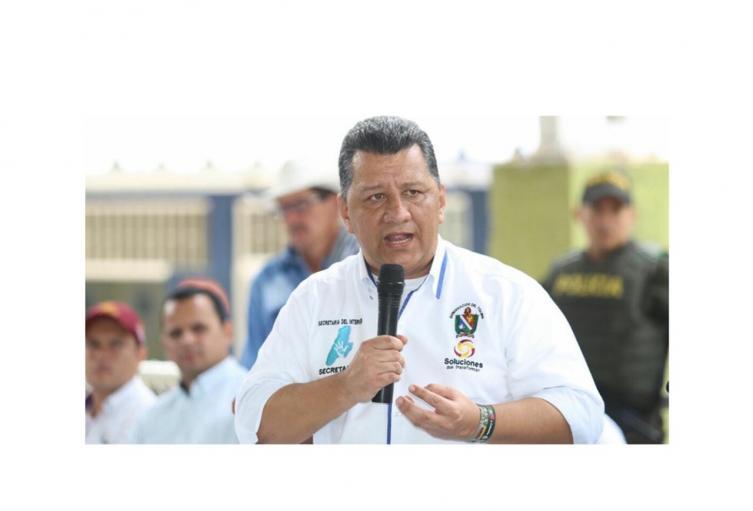Gobernador del Tolima Ricardo Orozco Valero
