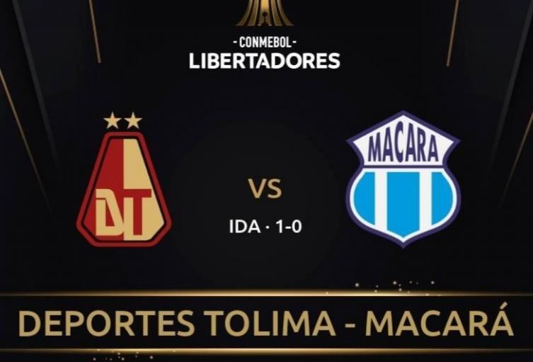 Tolima vs Macará partido de vuelta Copa Libertadores