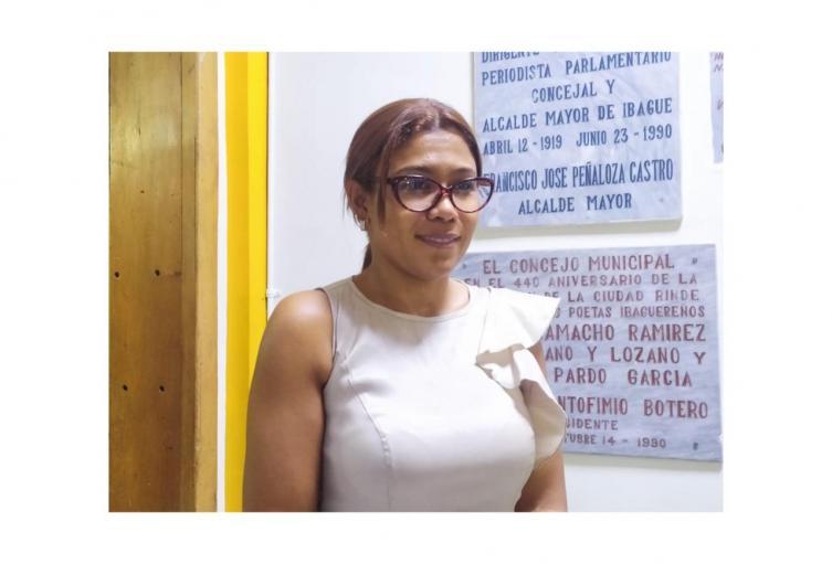 Leidy Yulieth Perea Contralora de Ibagué