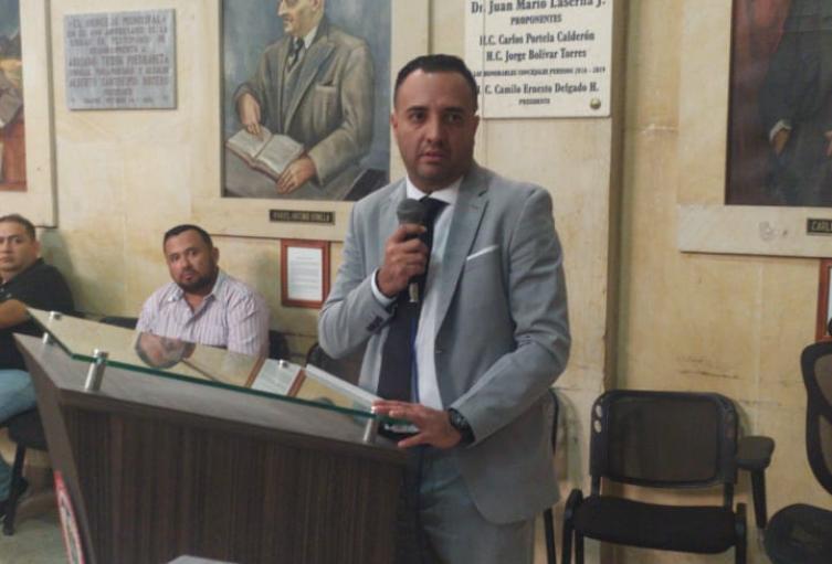 Wilson Prada nuevo Personero de Ibagué