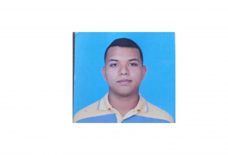 Joven desaparecido en Ibagué