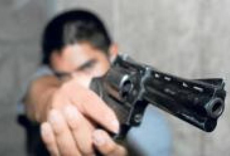 Hombre herido con arma de fuego