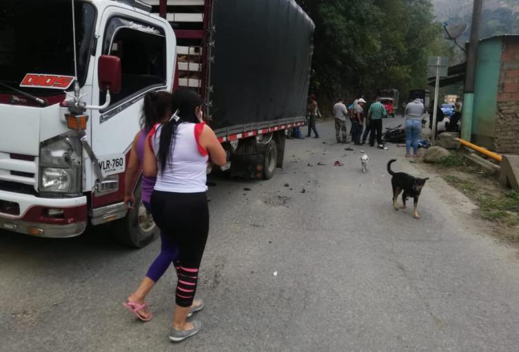 Muerto en Cajamarca 