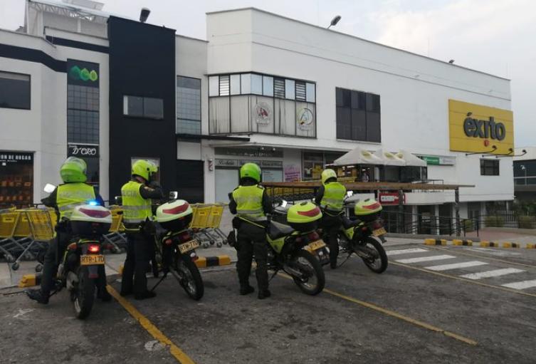 Policía en Ibagué