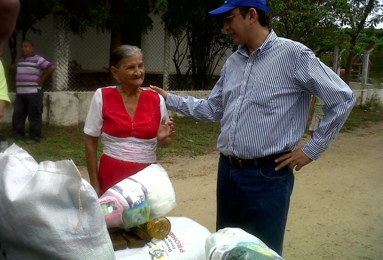 Para hacer la distribución de las ayudas se están revisando los listados de pobreza extrema de la Presidencia