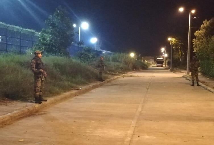 Militares en Ibagué