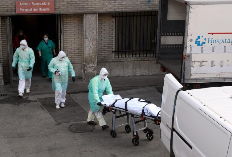 Muertos por coronavirus
