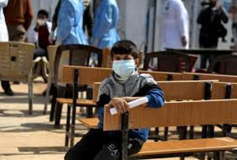 Niños afectados por coronavirus