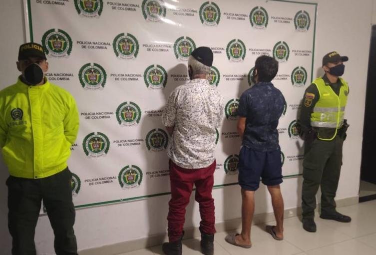 Capturados por homicidio en Tolima