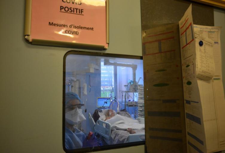 Coronavirus en Francia - Hospital Bichat